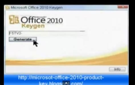 Microsoft Office 2010 Product Key Generator by Microsoft Office 2010 Product Key