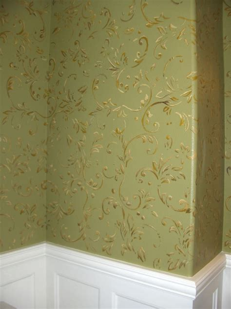 faux finish textures  painted wall paper mural photo