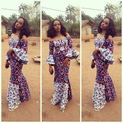 styles for nigeria long wevon style beautiful ankara long gowns styles for nigerian ladies