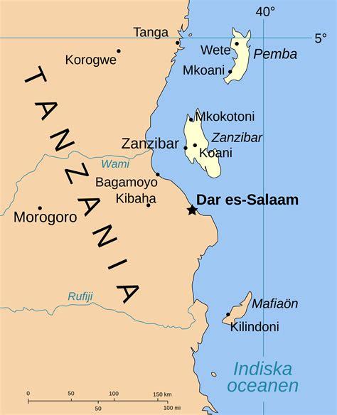 africa map zanzibar zanzibar africa map