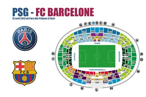 Calendrier Psg 2015 Billet Psg Barcelone 2015 1 4 De Finale Ligue Des Chions