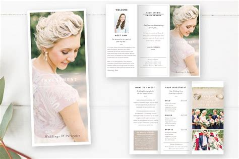 Wedding Brochure Layout by Wedding Photography Brochure Brochure Templates