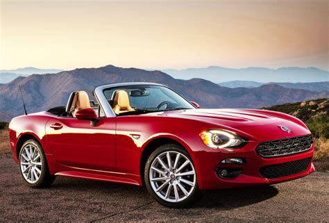 fiat roadster fiat re introduces the spider roadster to the us based on
