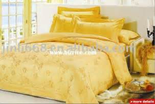 King Size Yellow Bedding Sets Yellow King Size Mulberry Silk Bedding Set China Bedding
