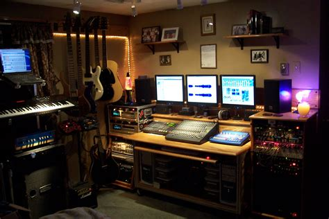 Home Recording Studio Needs List Of Home Recording Studio Equipment Bedroom