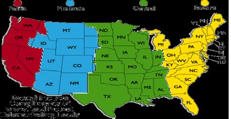 map of usa showing states and timezones this weeks schedule nacho army of club penguin