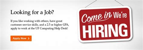 Uf Computing Help Desk by The Uf Computing Help Desk Is Hiring 187 Computing Help