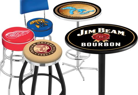 Sports Logo Bar Stools by Welcome To Bar Stool Co