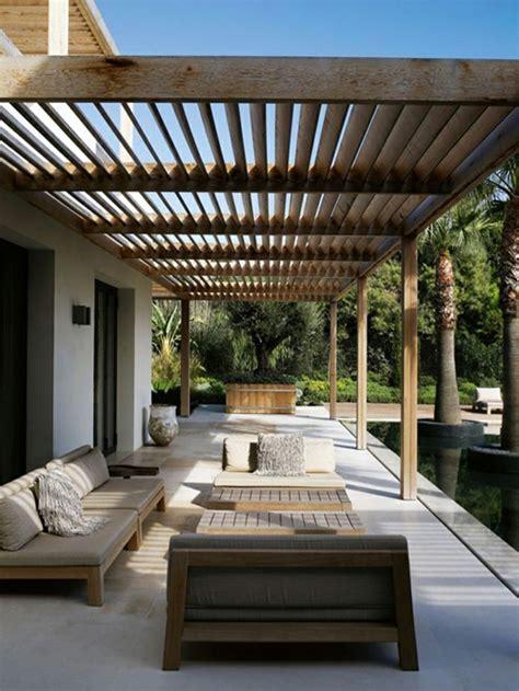 Terrassen Pavillon Holz by Garten Terrasse Sonnendach Pavillon Vordach Holz Pergola