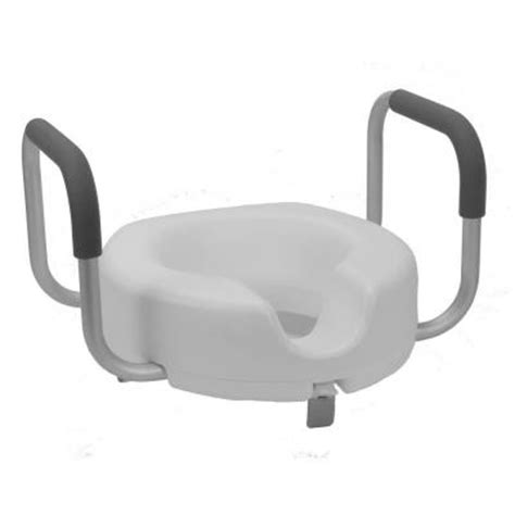 roscoe raised toilet seat locking with arms