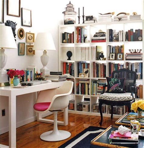 modern home decor magazines like domino ikea expedit bookcase contemporary den library office