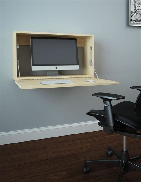 The 25 Best Wall Mounted Desk Ikea Ideas On Pinterest Wall Office Desk