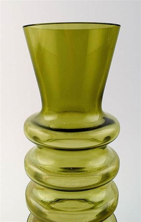 Still Vases nanny still quot pagoda quot for riihim 228 en lasi glass vase at 1stdibs