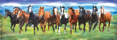 free printable horse jigsaw puzzles running wild jigsaw puzzle puzzlewarehouse com