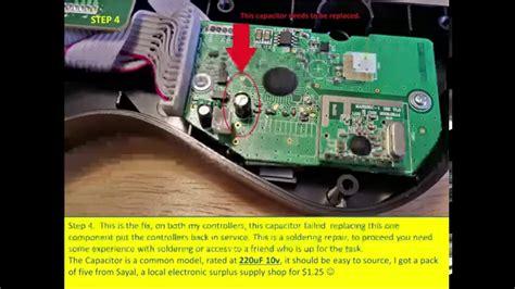 guitar capacitor problem the real guitar sync fix ps3