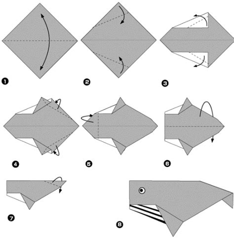 How To Make A Whale Origami - make easy and craft ideas make easy and craft ideas