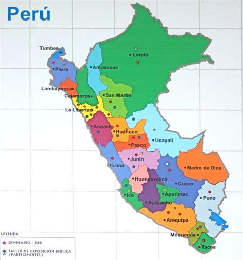 peru political map political map of peru