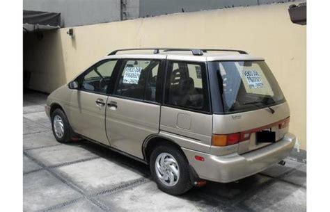 Nissan Axxess by 1990 Nissan Axxess Information And Photos Momentcar