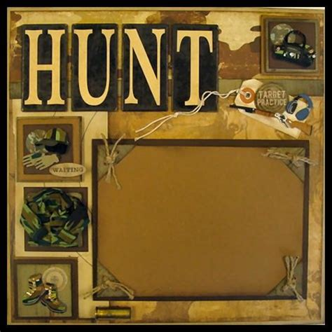 scrapbook layout holder ideas scrapbook pages and hunting on pinterest