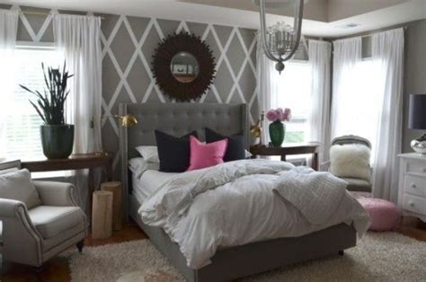 pink and gray bedroom ideas metallic grey and pink 27 trendy home decor ideas digsdigs