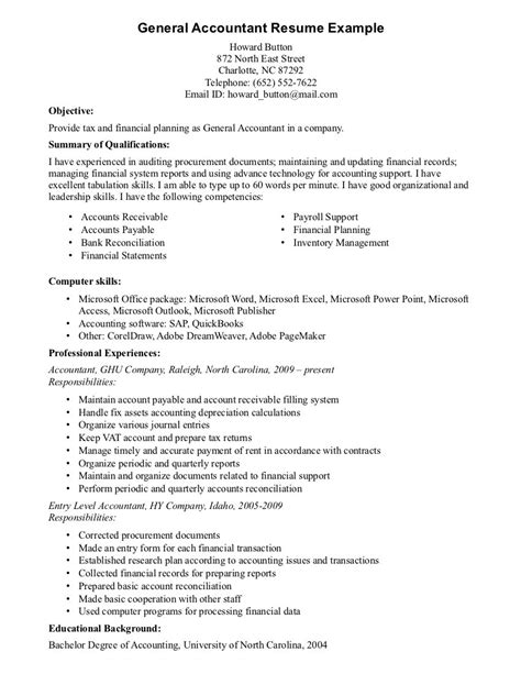 Resume Sles For Experienced Accountant Objective For Resume Sales Associate Writing Resume Sle Writing Resume Sle