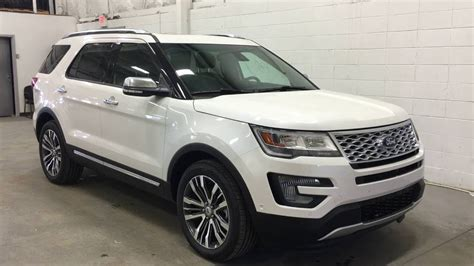 2017 ford explorer platinum 2017 ford explorer 4wd 4dr platinum boundary ford youtube