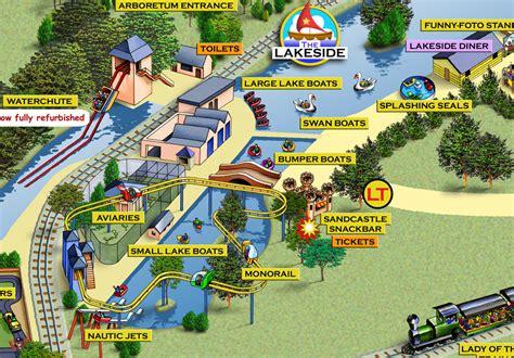 theme park kettering theme park maps