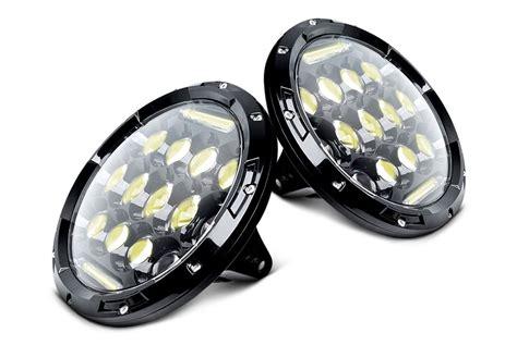 headlights and lights oracle lighting led halo fog lights carid com