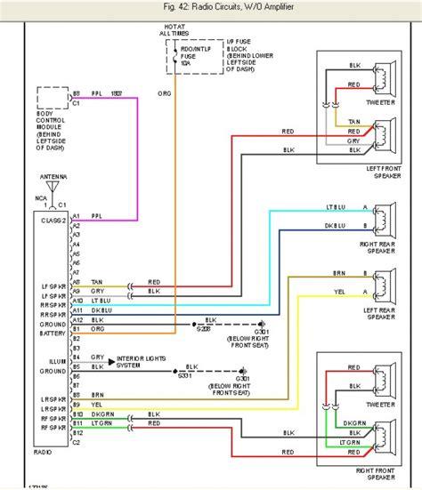 factory stereo wiring diagrams wiring diagram for chevy silverado 2000 radio readingrat net