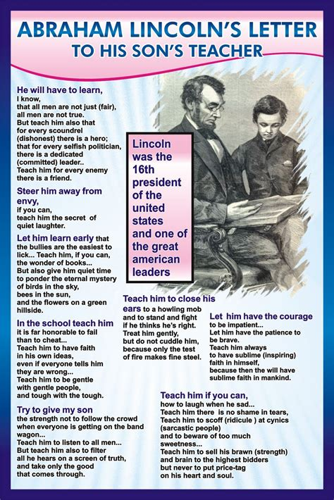 abraham lincoln letter to the 301 moved permanently