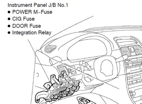 Relay Integration integration relay toyota avensis