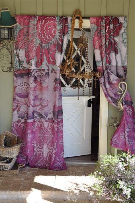 eclectic curtains portrait curtain eclectic curtains santa barbara