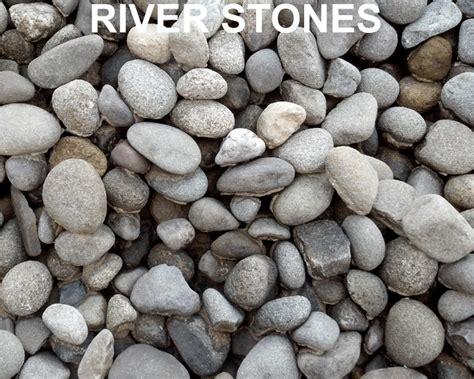 River Rock Gravel Island Topsoil Mulch Driveway