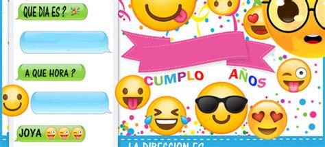 crear imagenes con emoji kit imprimible candy bar emojis para cumplea 241 os candy