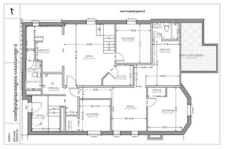 Basement Floor Plan Ideas Free Basement Apartment Floor Plans Rooms