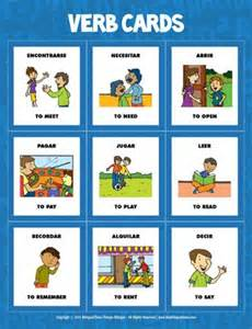flash cards spanis flash cards verbs 1