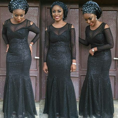 aso ebi lace styles top ten beautiful aso ebi styles to rock this season dabonke