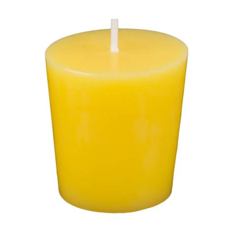 Yellow Candles Yellow Votive Candles