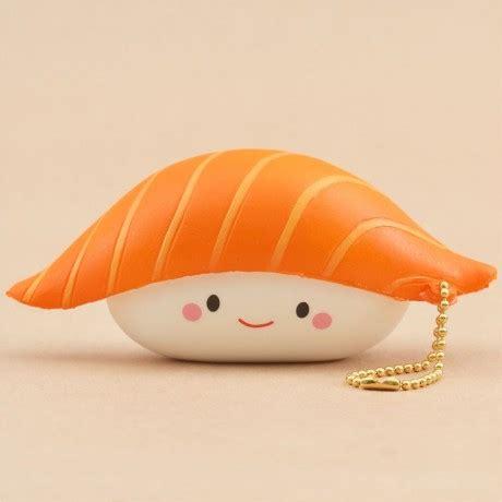 Squishy Licensed Sushi Delicious Original scented orange and white sushi food squishy squishy shop