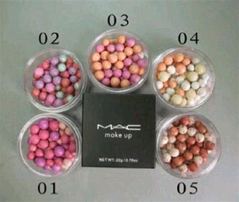 Mac Kecil jual mac butir make up blush on bubuk butir bola kecil