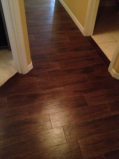 floor tiles layout idea 6 215 24 walnut plank tile installation wesley chapel florida ceramictec updates