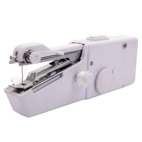 Handy Stitch Handheld Sewing Machine Mesin Jahit Portable Olb1297 handheld sewing machine mini portable handy electric household stitch tool white alex nld