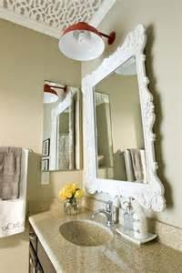 Interior design decorative bathroom mirror antique ceiling light