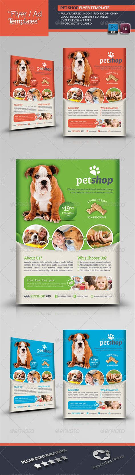 Pet Care Banners Psd Templates And On Animal Shelter Pet Adoption Print Template Pack Fundraisi Pet Adoption Flyer Template