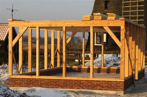 dak voor schuur bouwtekening schuur met plat dak