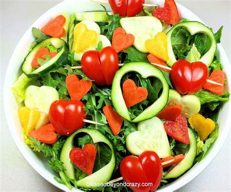 valentines salad i salad blessed beyond