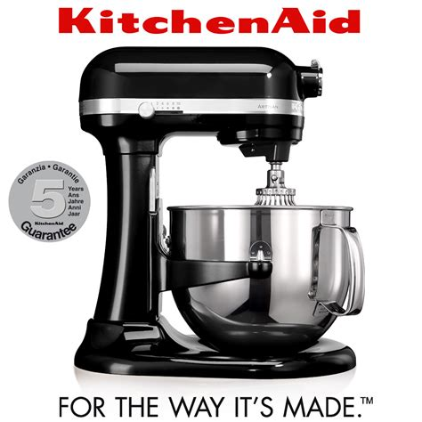 Mixer Artisan Kitchenaid kitchenaid artisan stand mixer 6 9 l onyx black
