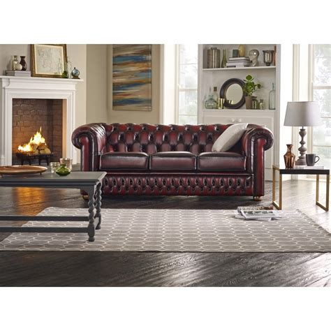 3 Seater Chesterfield Sofa Buy A 3 Seater Chesterfield Sofa At Sofas By Saxon