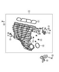 2013 jeep patriot intake manifold 2 4l ed3