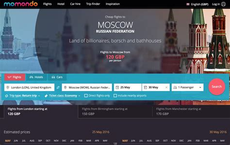 How to find the cheapest flights to Moscow and St ...